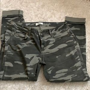 Sonoma Camouflage jeans skinny 14